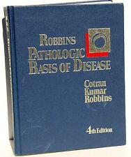 ROBBINS PATHOLOGIC BASIS OF DISEASE – 4th Ed Medical Book – Cotran-Kumar-Robbins