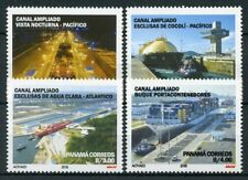 Panama 2018 MNH Panama Canal Expansion Project 4v Set Boats Ships Stamps