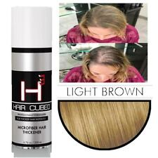 Hair Cubed Hair Building Fiber Hair - Organic/WProof Light Brown
