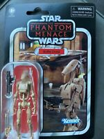 "Hasbro Star Wars Vintage Collection VC78 Battle Droid 3.75"" Action Figure New"