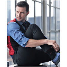Richard Armitage Seated by Window Tieing Shoe 8 x 10 Inch Photo