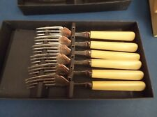 Boxed Fish Forks EPNS Made by Dixon Sheffield