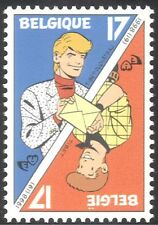 Bélgica 1998 personajes de dibujos animados/Chick Bill/Ric Hochet/Animación/carta 1v n31895