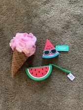 Bath And Body Watermelon Pocket B A C Holder Pouch And Ice Cream Sponge Mwmt
