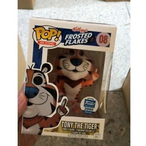 #08 Funko POP! Ad Icons Tony The Tiger! Shop Exclusive! IN HAND! w/PROTECTOR! 🔥