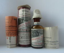 EMPTY Bottle Chloroform Medicine anesthesia Pharmacy Apothecary poison German !