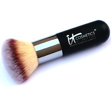 iT Cosmetics Heavenly Luxe #1 Airbrush Dual Powder Bronzer Big Makeup Brush NEW