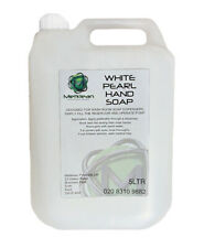 White Pearl Refresh Silky Liquid Soap Gentle Smooth Hand Wash 5 Litre Refill