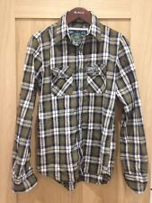 Superdry Mens Shirt Medium Lumberjack Twill