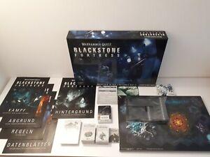 Blackstone Fortress - Spielmaterial ohne Miniaturen - Deutsch - Warhammer Quest