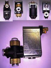 Magnetventil Verteiler Benzin Diesel Druckluft T Stück 12 Volt Y Pneumatik