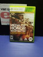 Medal of Honor: Warfighter -- Limited Edition (Microsoft Xbox 360, 2012) 2 Discs