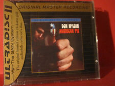 "MFSL-UDCD 728 DON McLEAN "" AMERICAN PIE "" (MFSL-GOLD-CD/USA/FACTORY SEALED)"