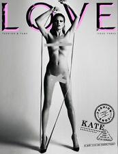 LOVE Magazine #3,KATE MOSS,Krsiten McNenamy,Amber Valletta,Daria Werbowy NEW