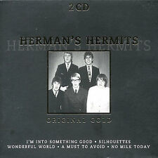 Original Gold by Herman's Hermits (CD, Oct-1998, Disky) 2 cd set box Peter Noone