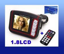 "Transmisor mp3 mechero coche tarjeta SD LCD 1.8"" mp4  con MANDO reproductor USB"