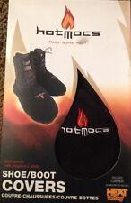 HotMocs Fleece Shoe & Boot Covers Black W/2 Warmers Outerwear XSmall