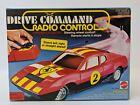 Vintage Mattel 'Drive Command' Radio Remote Control FERRARI 512 RACER Race Car