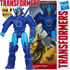 "Transformers Autobot Drift Age of Extinction Titan Heroes 12"" inch Figure Toy"