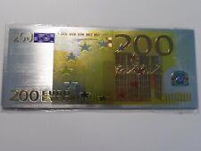 SUPERBE  MAGNETTE  BILLET  200  EUROS  -  NEUF SOUS BLISTER   // A VOIR  !!