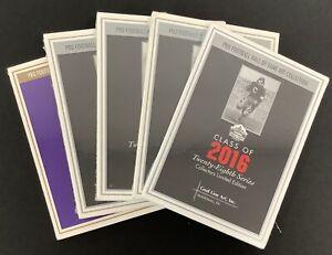 Goal Line Art Football HOF Postcards Hall of Fame Collection 5 Sealed Sets GLAC
