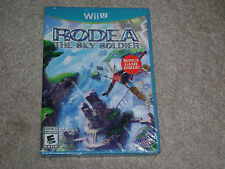 RODEA THE SKY SOLDIER...NINTENDO WII U...***SEALED***BRAND NEW***!!!!!!