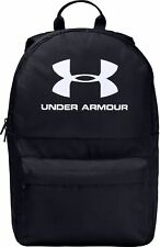 Under Armour Loudon Backpack Black Storm Large Zipped Compartment Laptop Sleeve