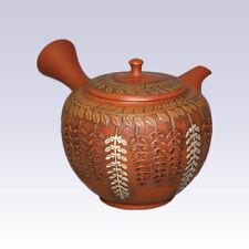 Tokoname Kyusu teapot - SHUNEN - Wisteria - 280cc/ml - Pottery steel net