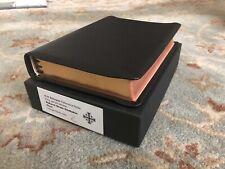 Schuyler KJV Westminster, Holy Bible, Black Goatskin, New In Box, OOP, RARE