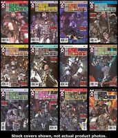 U.S. War Machine 1 2 3 4 5 6 7 8 9 10 11 12 Complete Set Run Lot 1-12 VF/NM
