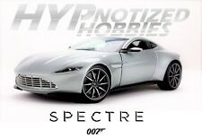HOT WHEELS ELITE 1:18 007 SPECTRE ASTON MARTIN DB10 DIECAST SILVER CMC94
