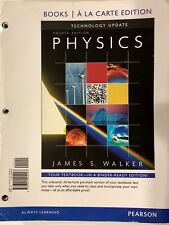 Physics, Books a la Carte Edition (4th Edition) by James S Walker-Very Good Cond