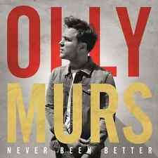 Never Been Better - Olly Murs CD Sealed ! New !