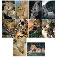 5D DIY Full Drill Diamond Painting Animal Tiger Cross Stitch Embroidery Kit Gift