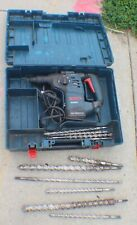 "BOSCH RH328VC 1-1/8"" SDS Plus Corded Rotary Hammer Drill 8A with Bits in Case"