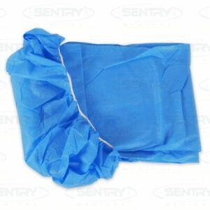 Stretcher Sheet FIRST AID Blue elastic x 10