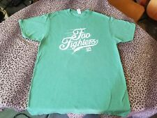 Foo Fighters 1995 Tee Shirt Clean Medium Soft And Cozy Green Nirvana Rock N Roll