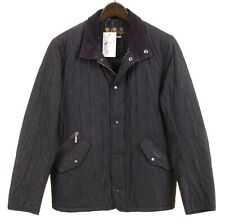 Barbour Chelsea Sportsquilt Blue Quilted Insulated Lightweight Packable Jacket S