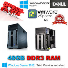 DELL POWEREDGE T610 2x SixCore XEON X5650 2.66Ghz 48 Go DDR3 PERC H700 6 To Sas