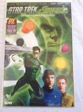SDCC 2015 STAR TREK GREEN LANTERN #1 COVER A PREVIEWS EXCLUSIVE NM