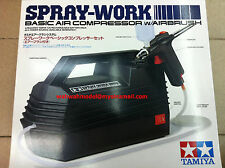 Tamiya 74520 Spray-Work Basic Air Compressor w/Airbrush Cap