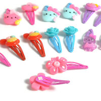 20pcs Mixed Assorted Baby Kid Children Girls Cartoon Hair Pin Clips Hairpin Bow