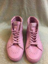 Vans x Opening Ceremony Light Purple Leather Sk8 Hi Skate Shoes Men's Sz 9