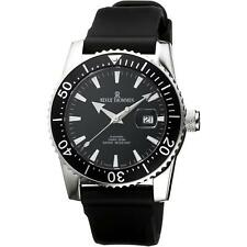 Revue Thommen Men's Diver 45mm Black Rubber Band Automatic Watch 17030.2537