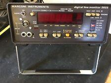 Marconi Instruments Digital Line Monitor 2833A (3)