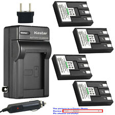 Kastar Battery Travel Charger for Canon NB-3L NB3LH Canon Digital IXUS II Camera