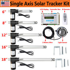 Us 6000n Electronic Single Axis Solar Tracking Controller With Linear Actuator Kit