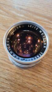 Leica 50 Summicron Rigid Late V1 serial