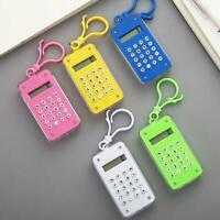 Creative Candy Color Mini Calculator Simple Portable Mathematics Learning 2020