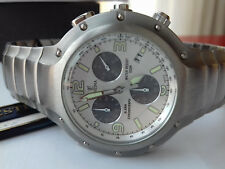 Festina VINTAGE COLLECTION 6652/1 CHRONOGRAPH MODELE DEPOSE DIVER WATCH NOS UHR